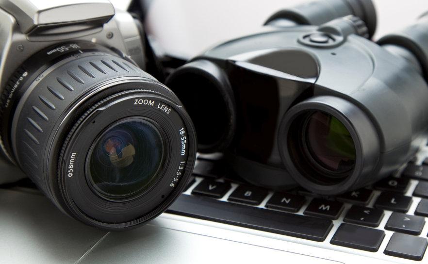 camera binoculars computer