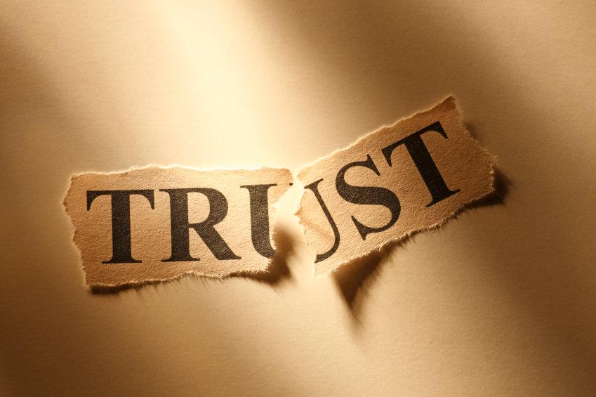 trust is broken