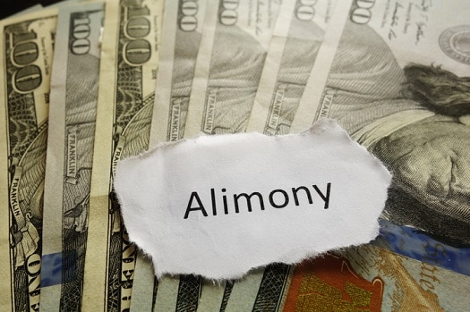 Image of alimony payment